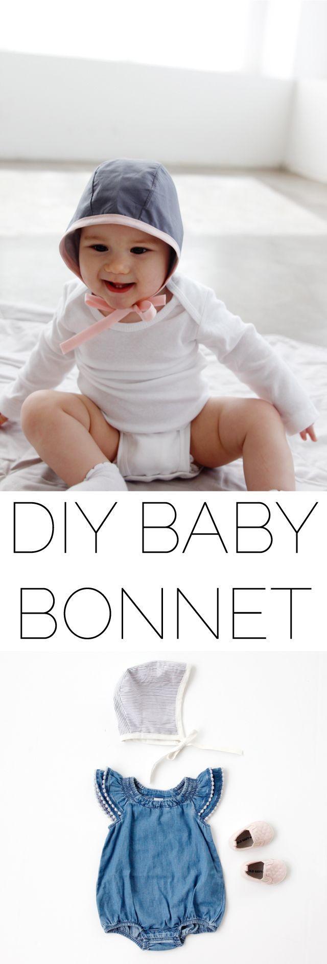 2 New Baby Bonnet Patterns en 2018 | Sewing | Pinterest | Costura ...