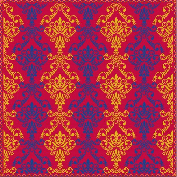 Counted cross stitch pattern pdf chart instant download