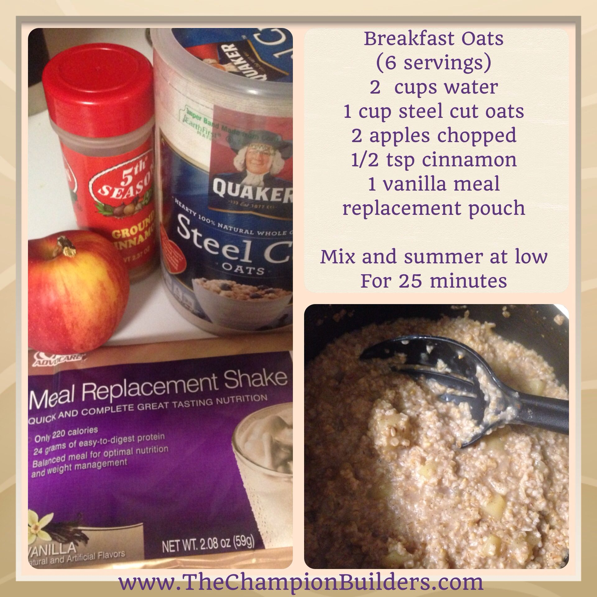 Yummy breakfast using meal replacement #advocare https://www.advocare.com