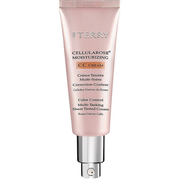 BY TERRY Cellularose Moisturizing CC Cream, 1- CC Nude 1.4 oz (41 ml) (270 BRL) ❤ liked on Polyvore featuring beauty products, skincare, face care, face moisturizers, oil free face moisturizer, by terry and face moisturizer