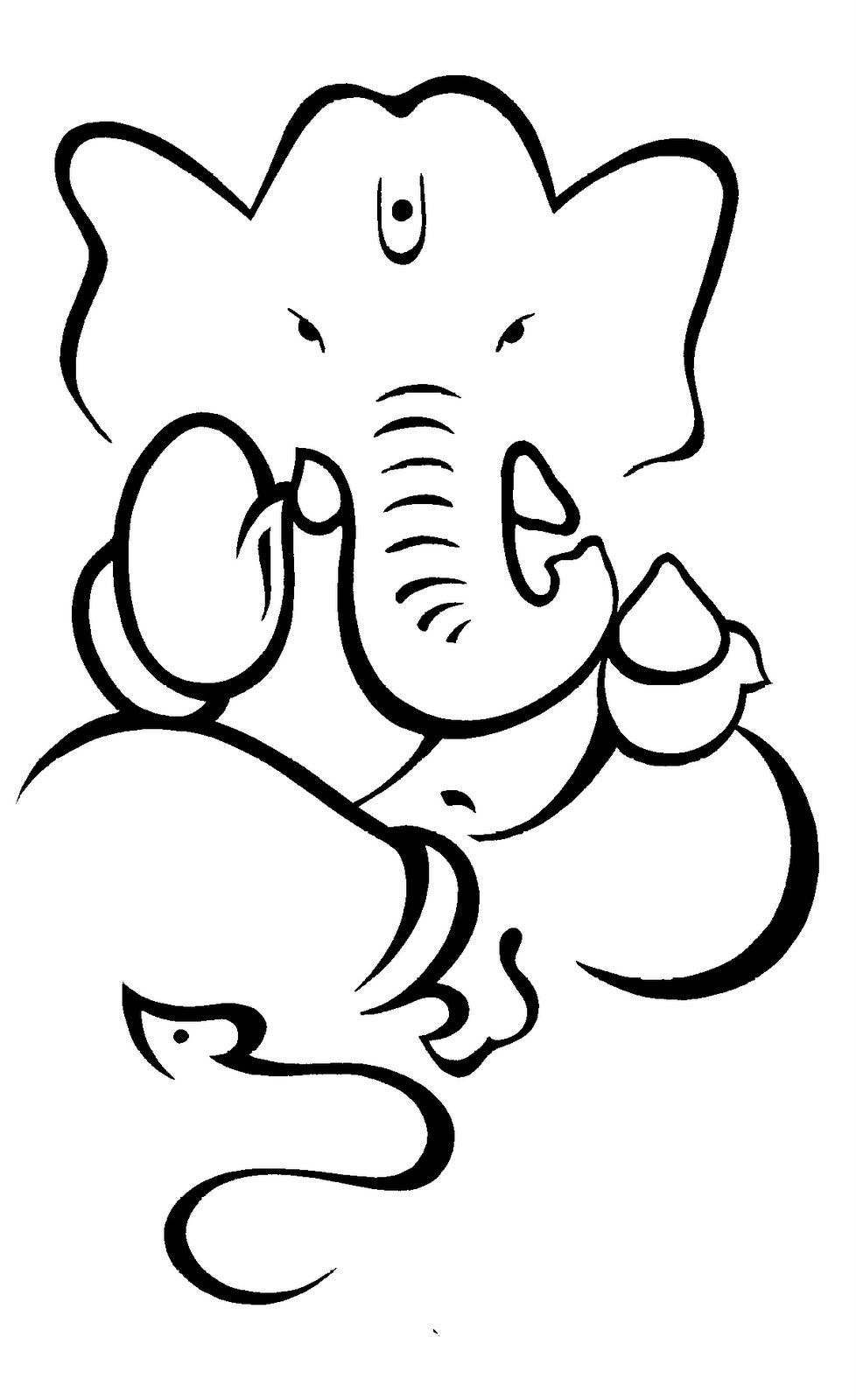 Ganesh sketch easy drawing of lord ganesha how to draw lord ganesha youtube drawing