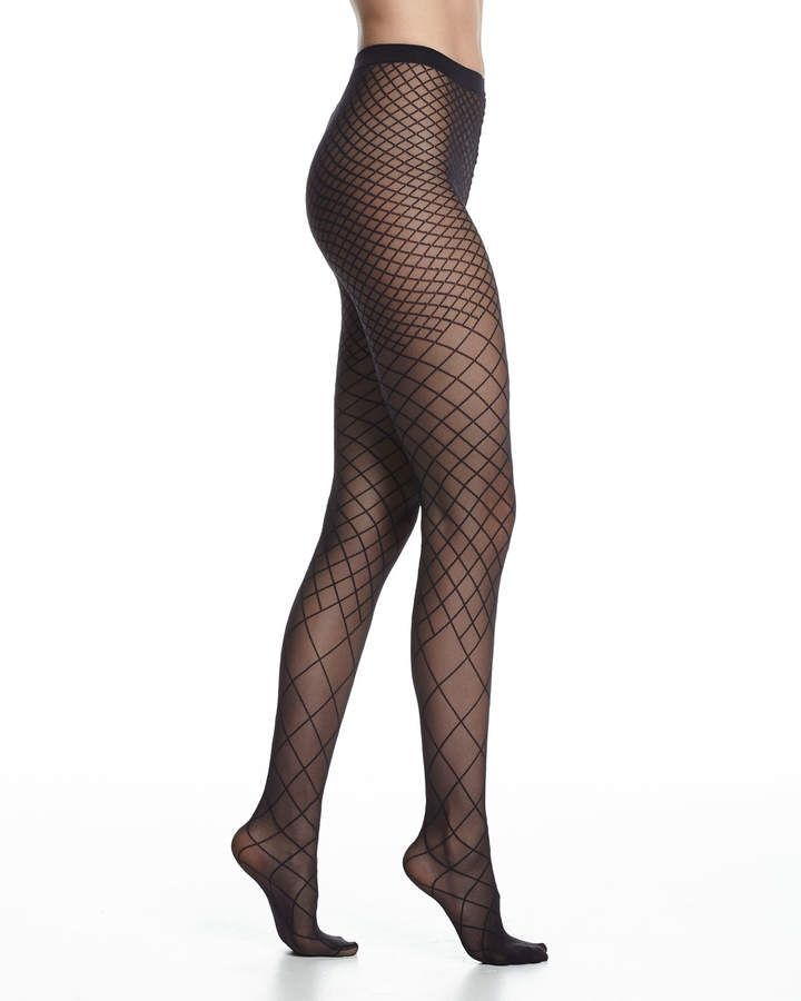 97eda783c869c Karo Sheer Diamond Tights Black | Products | Wolford stockings ...