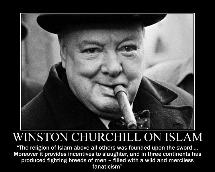 winston churchill essay islam And in churchill's 1899 book 'the river war', about britain's 19th century war in sudan, he included a passage condemning islam that says: no stronger retrograde force exists in the world.