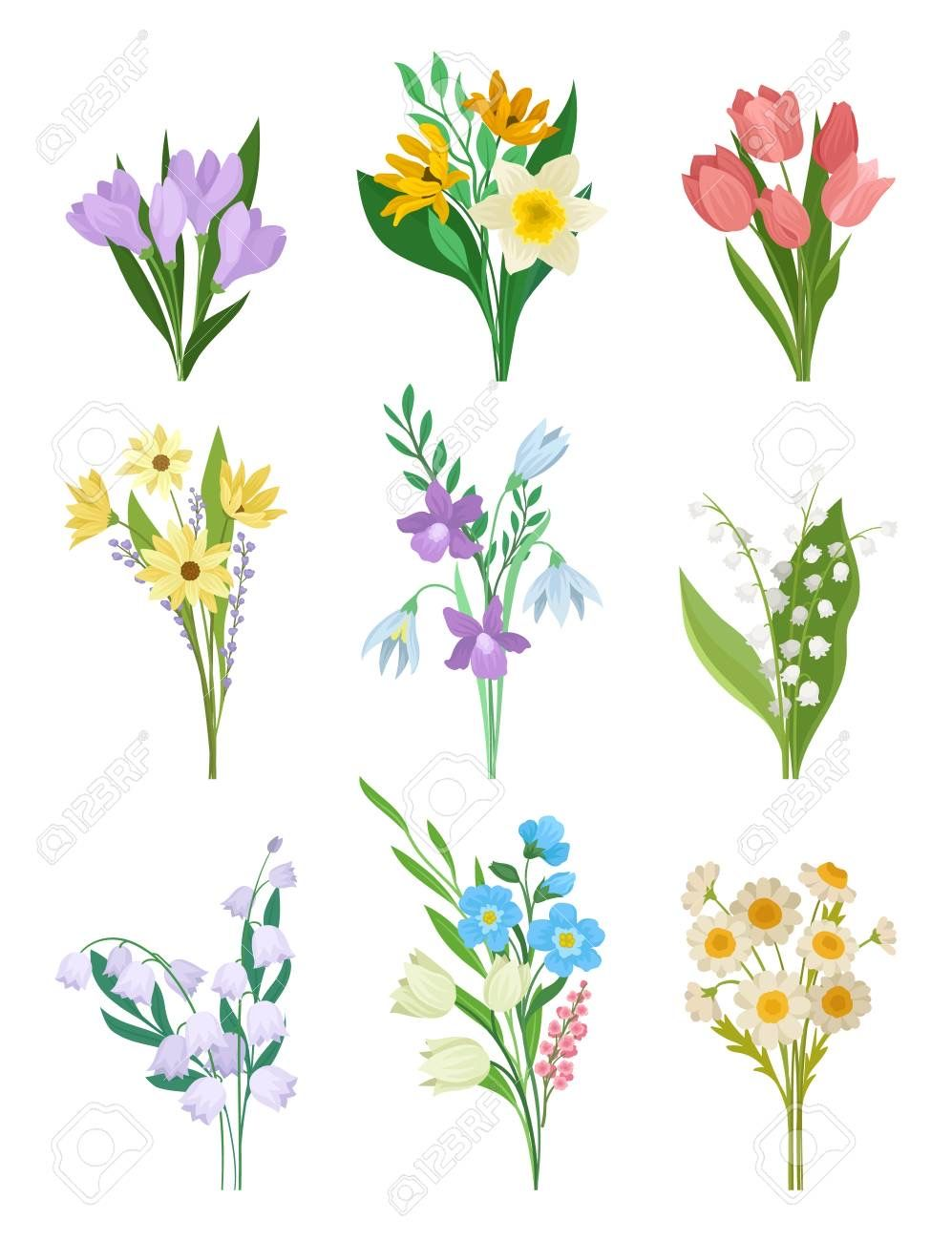 Pin by Cindy Jones on Cute Clipart Spring bouquet