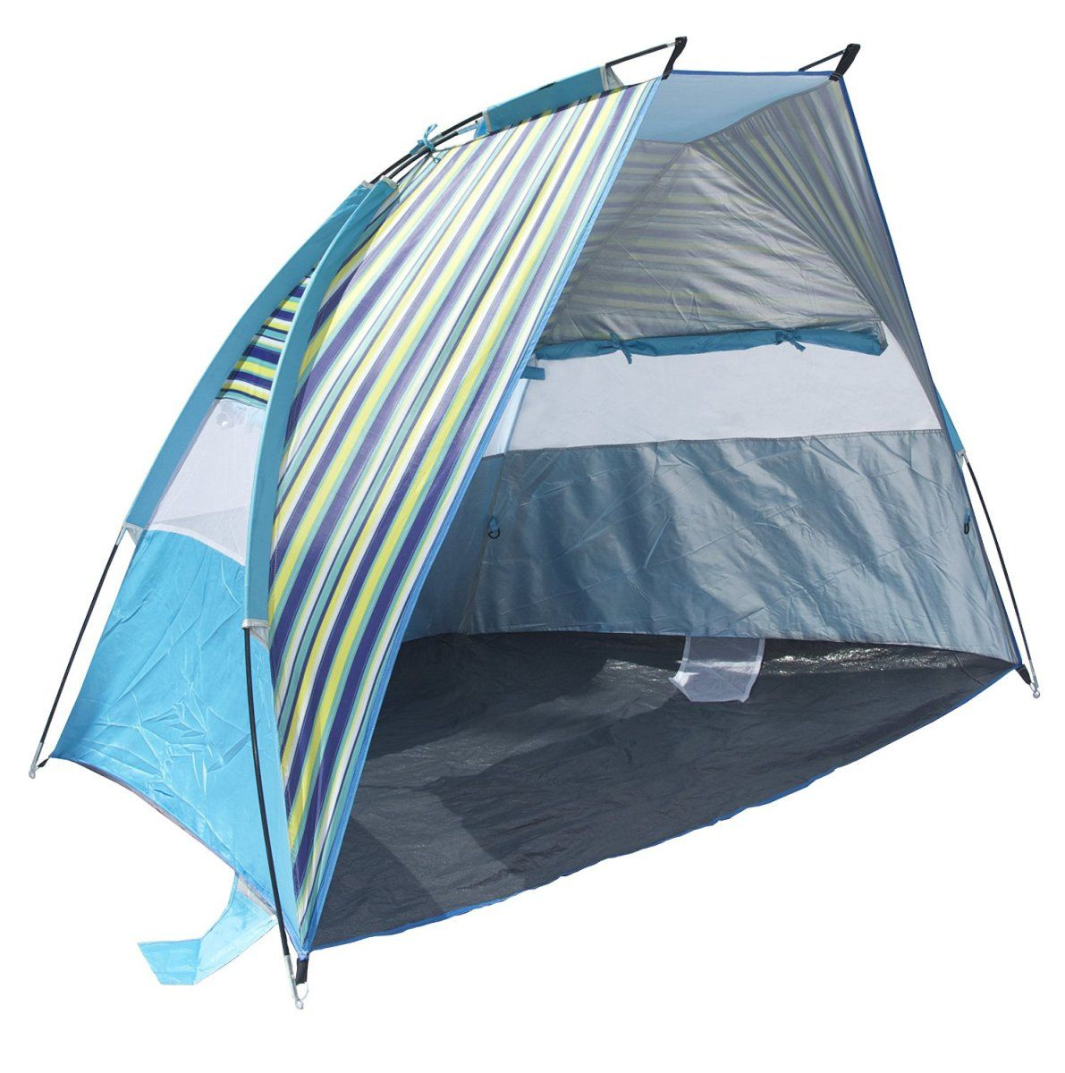 Beach tent  sc 1 st  Pinterest & Easy to use pop up beach tent u2013 comes with sandbags for increased ...