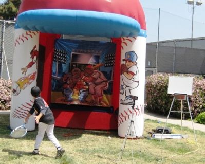 Radar Speed Pitch Or Tennis Swing Speed Guage With Images Kids Party Rentals Sports Themed Party Kids Party