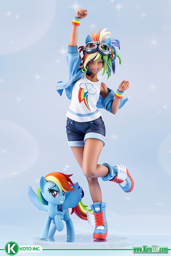 My Little Pony Rainbow Dash Bishoujo Statue New Pre Orders In