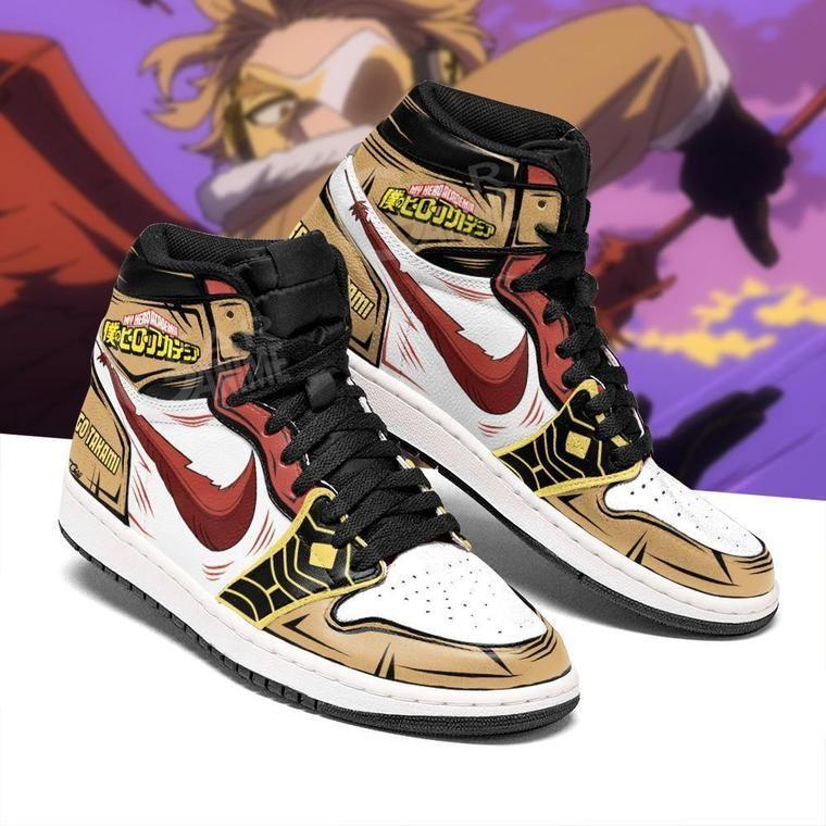 Hawks Jordan Sneakers Keigo Takami My Hero Academi