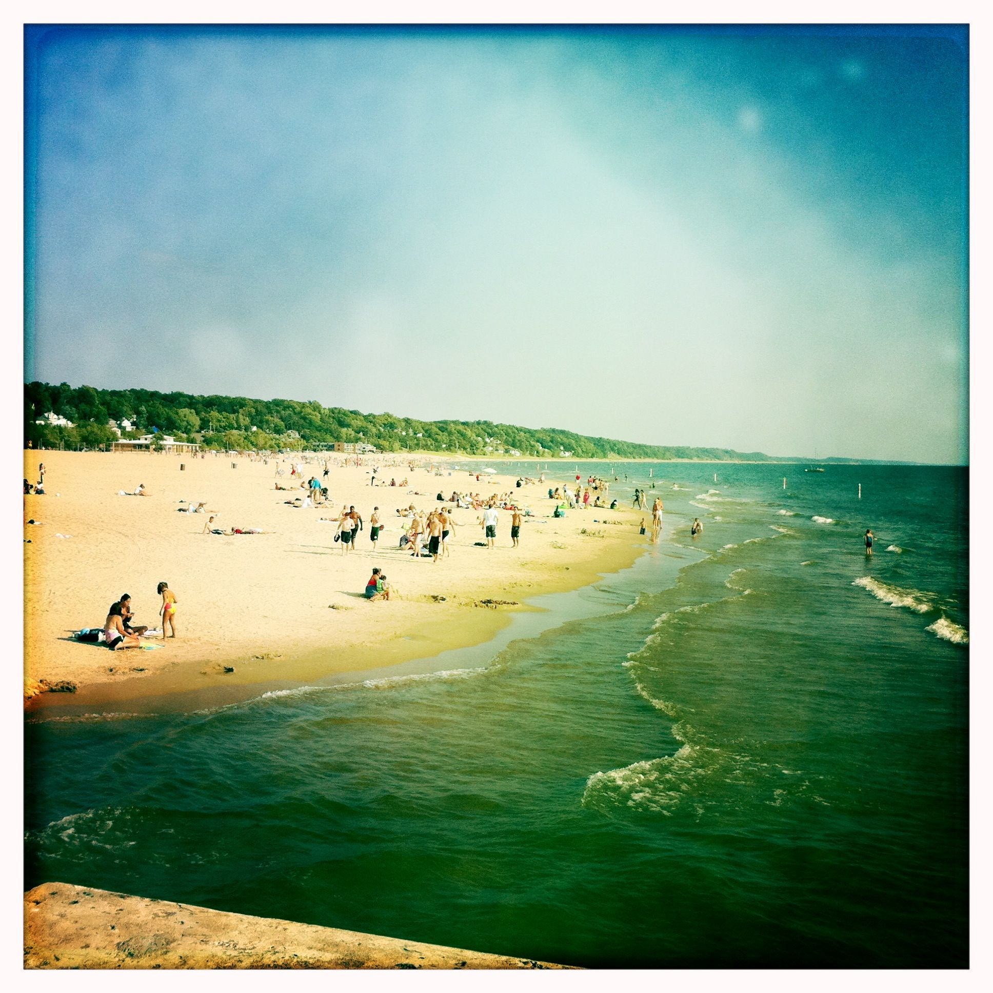 The Beach At Grand Haven State Park