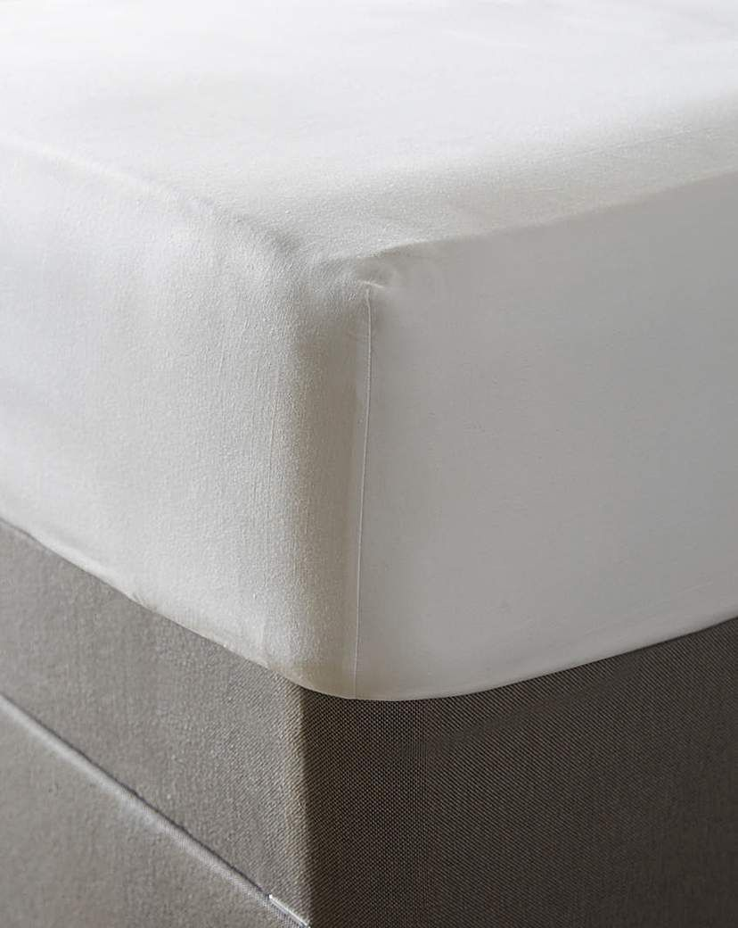 Jd Williams Egyptian 400 Tc Deep Fitted Sheet White In 2021 Fitted Sheet White Egyptian Cotton