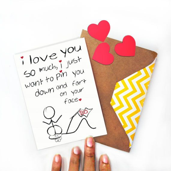 Love Your face Valentine Greeting Card I like that shit Funny
