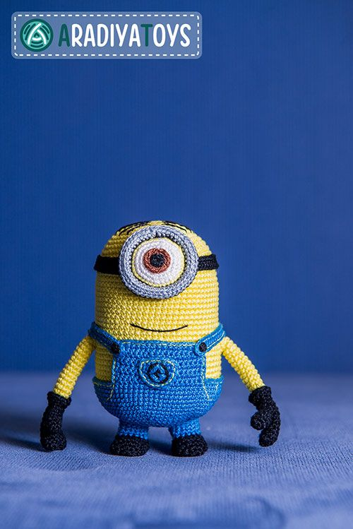 Minion Stuart (Despicable Me) amigurumi pattern by AradiyaToys