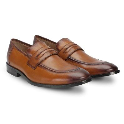 b190a1e40cb Buy Tan Leather Hand Finished  FormalShoes For Men By Brune Online at Best  Price in India    voganow