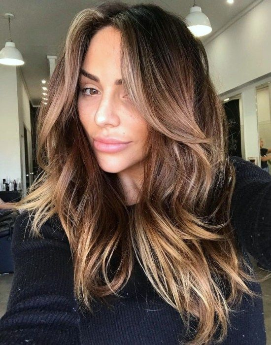 46 Gorgeous Fall Hair Color Ideas For Brunette #fallhaircolorforbrunettes