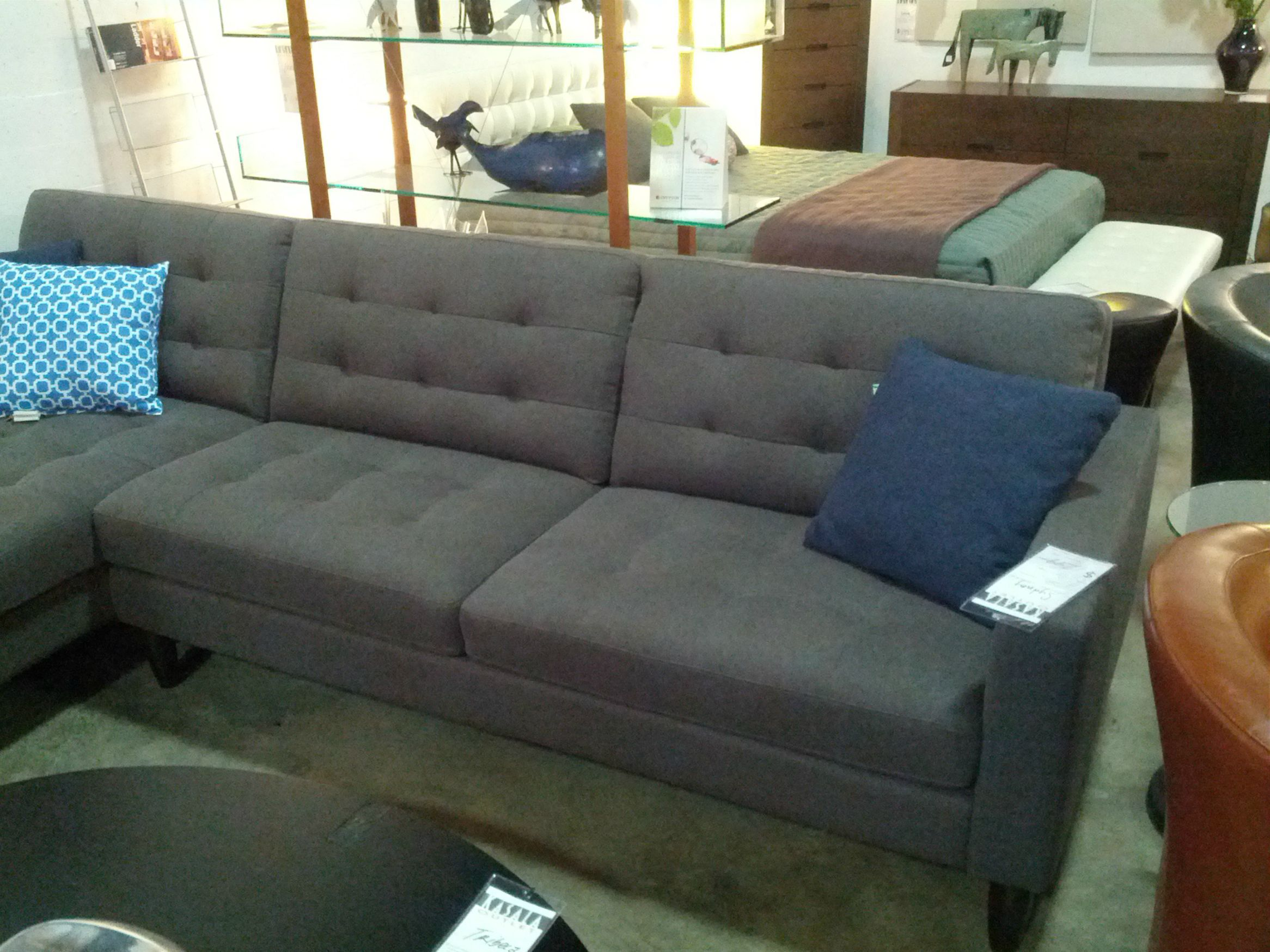Another gray sectional by Kasala in Seattle