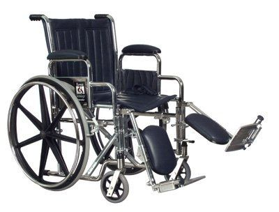 "Lightweight Wheelchair (18"" x 16"" with Removable Desk-Length Arms) by Derby. $131.75. Seat 18""W X 16""D, Product Weight Capacity:250 lb., Warranty:5 years on frame and cross-braces, Urethane rear tires, mounted on ""no flex"" wheels, offer superior performance, Dual axle positions allow variation of seat- to-floor heights. Product weight: 36 lb."