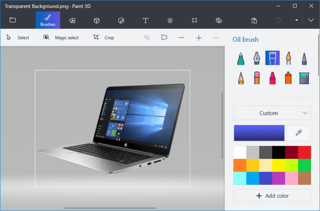 Want To Make An Image Background Transparent In Paint 3d Or Microsoft Paint Learn How To Mak Background Information Information Technology Microsoft Wallpaper