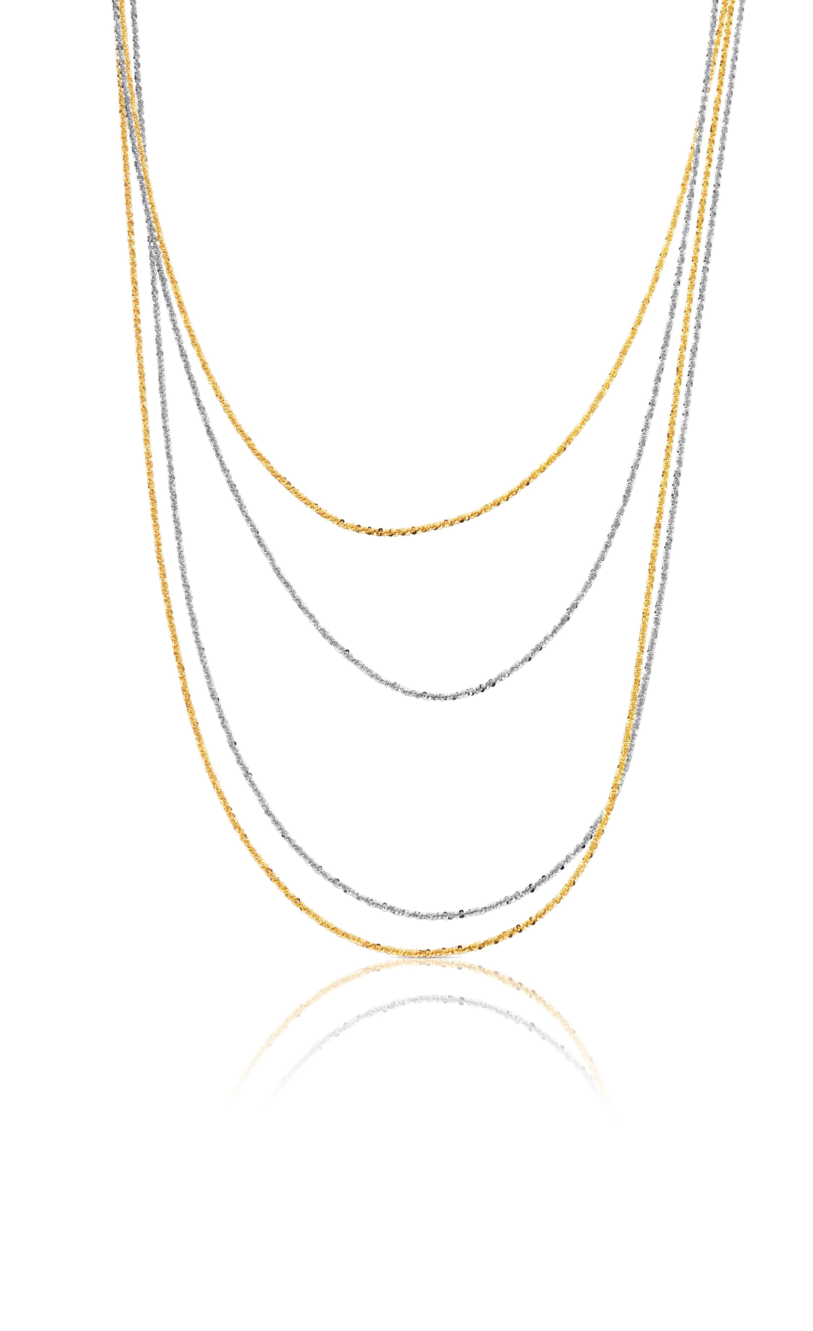 TOUS Rock two choker pack in sterling silver and vermeil