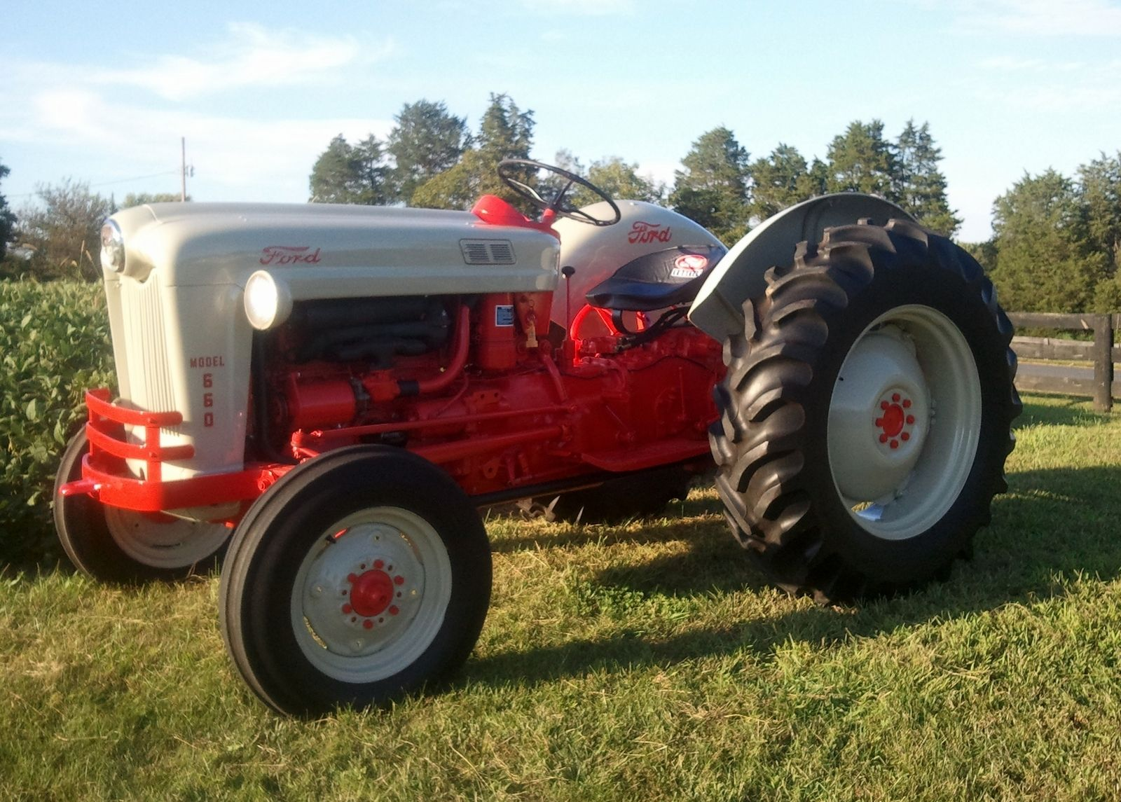 Old tractors 1957 ford model 660 steve mallory madison va purchased from the