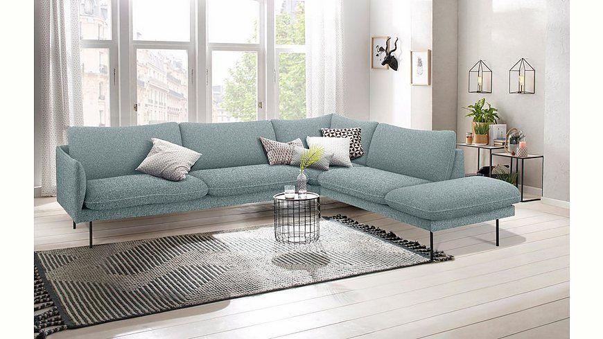andas Ecksofa «Mavis», mit Ottomane und losen Sitz- und - wohnzimmer couch günstig
