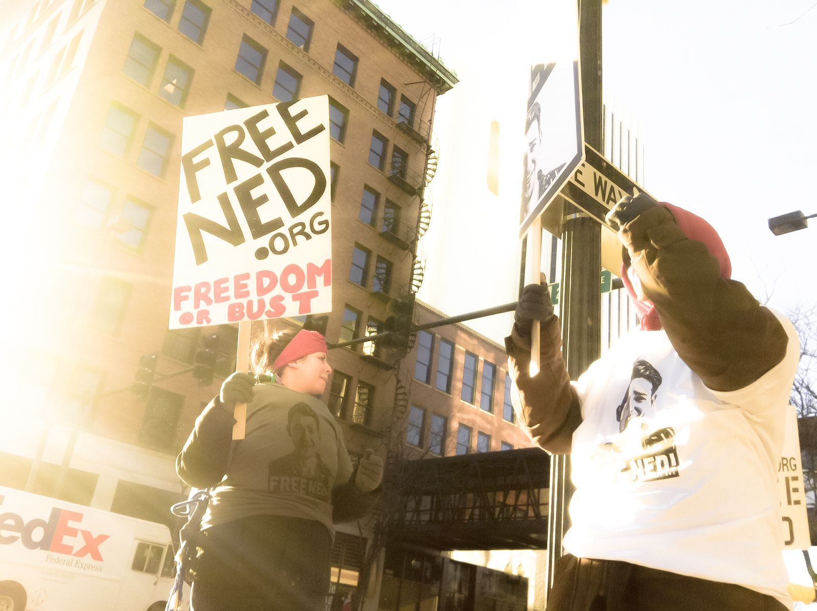 Freened Rally Photo From Cedarrapids Iowa Freened Org Photo