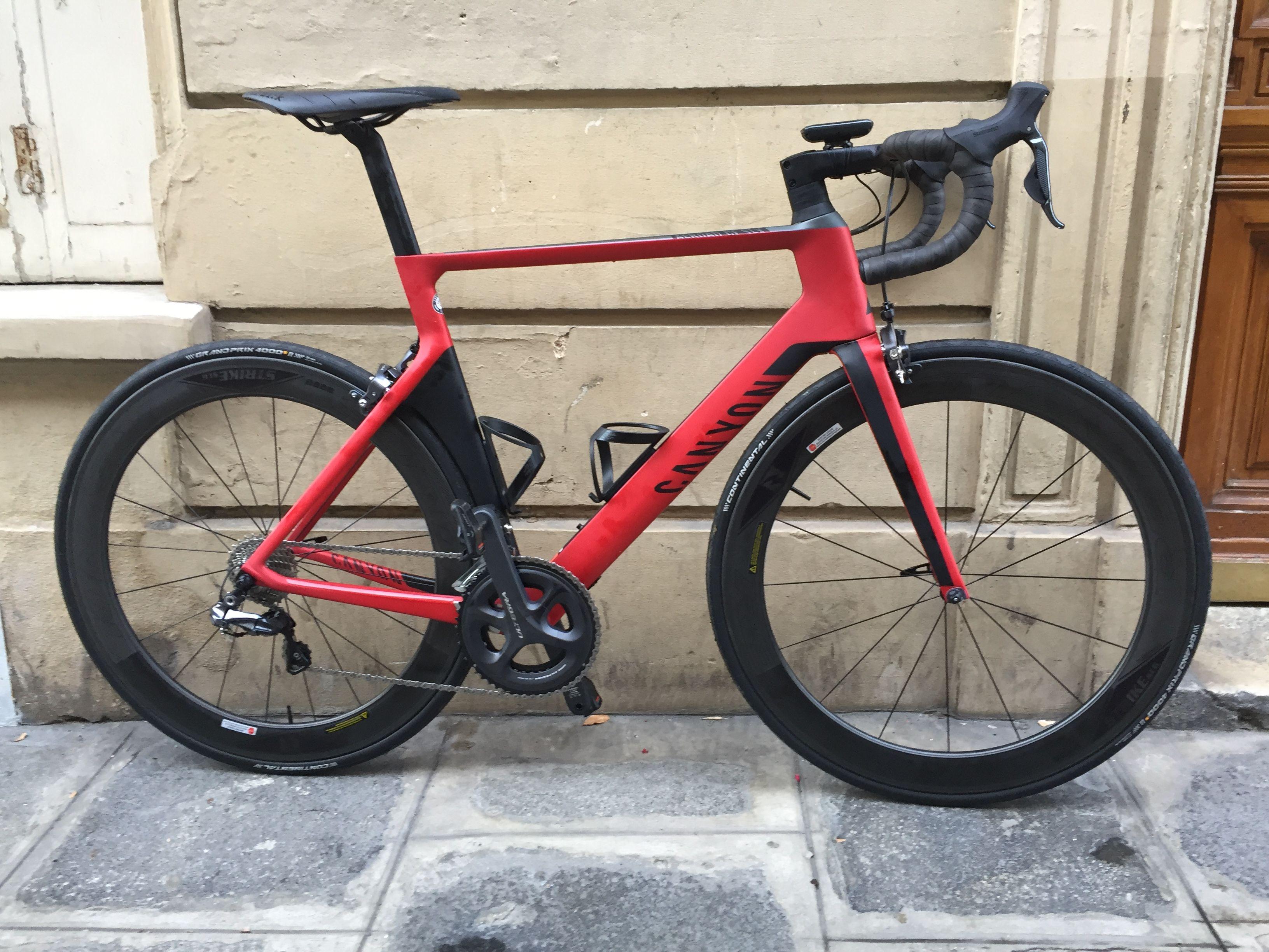 b06924b30fc Canyon Aeroad CF SLX 8.0 DI2 - 2016 | Cycling | Road bikes, Canyon ...