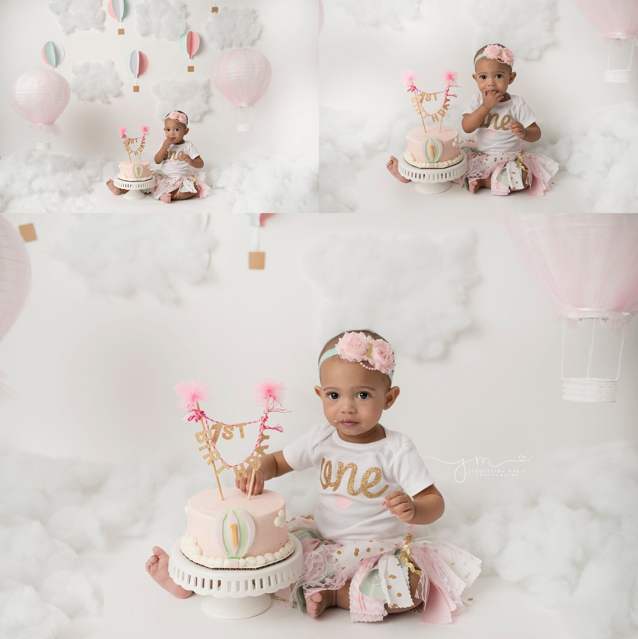 Columbus Ohio children photographer Cake smash Columbus ohio and