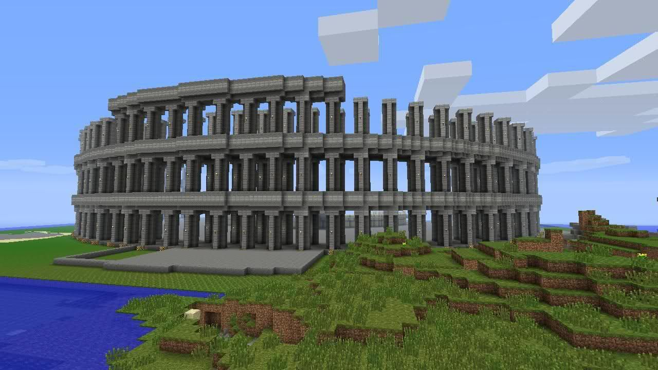 My World  Roman Colosseum  Biosphere  Giant Treehouse And More  - Screenshots