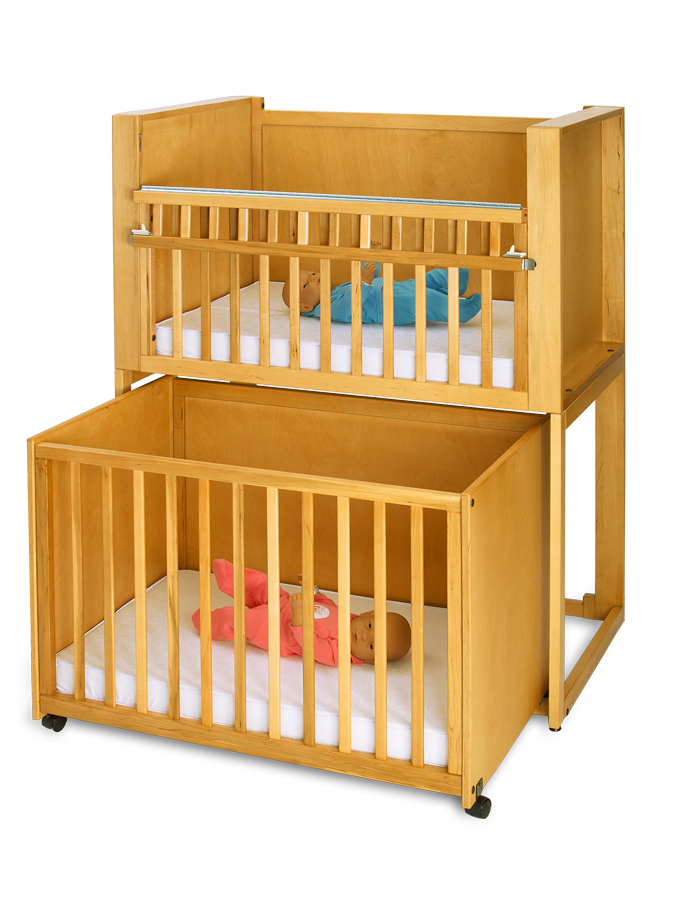 C 2 Two Infant Bunkie Stackable Crib What Do You Think Not Sure Cribs For Twins