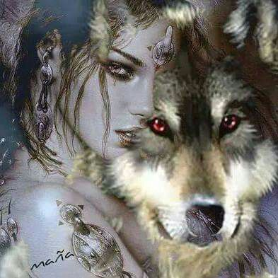 Me encantan los lobos y las lobas. :)
