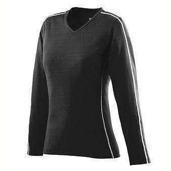 $31.00 cool Ladies Poly/Spandex Power Jersey - Black - 2XL