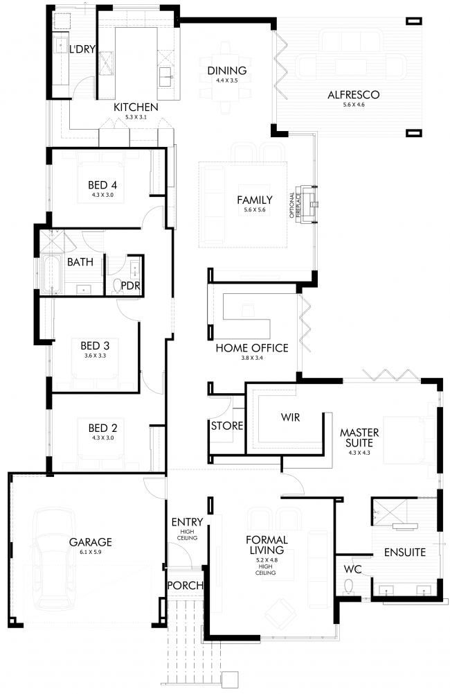 Floor Plan Friday: Bifold doors for the entertainers | Doors ...