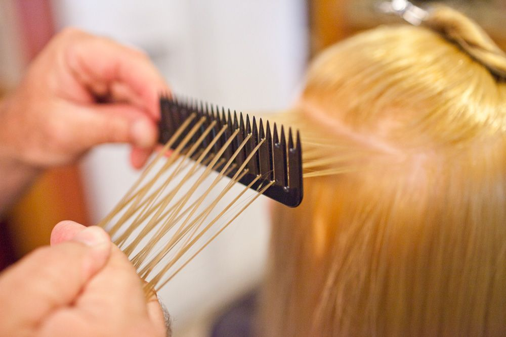 Jnxcel The Perfect Hair Weaver Foiling Comb Hair salon