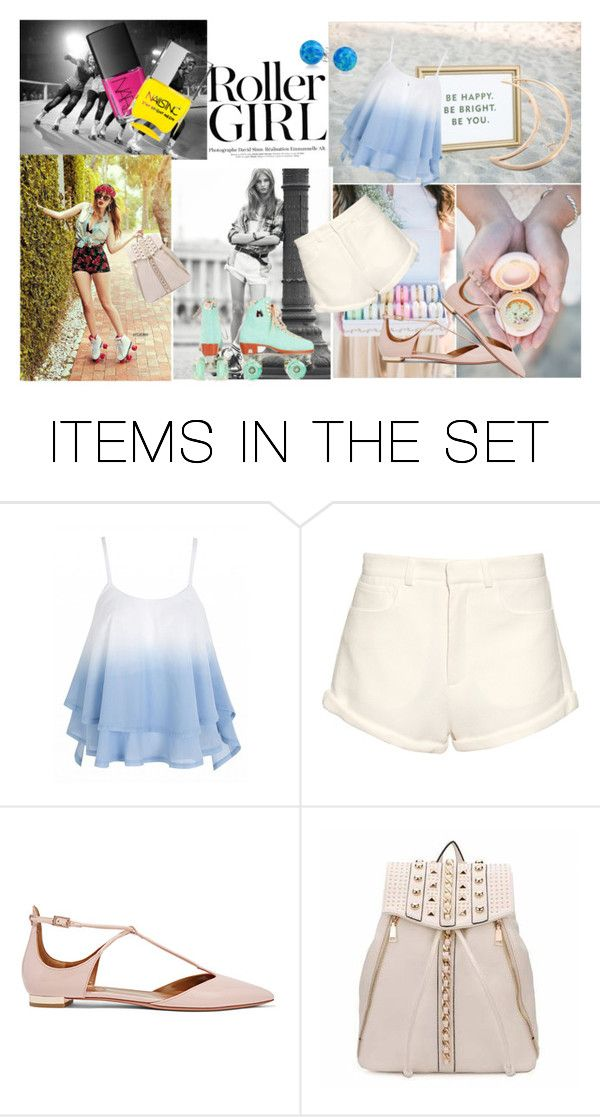 """""""Life on skates"""" by nicolleeliza ❤ liked on Polyvore featuring art"""