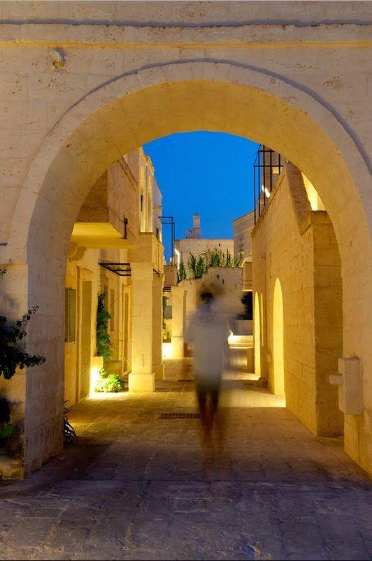 Un Hotel de ensueño. Egnazia. Italia Linea R en