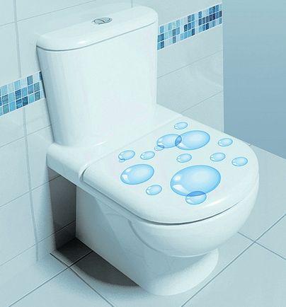 vinilo decorativo para poner en la taza del wc o retrete