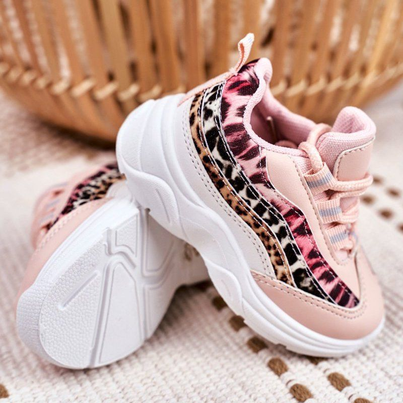 Frrock Sportowe Buty Dzieciece Rozowe Dante