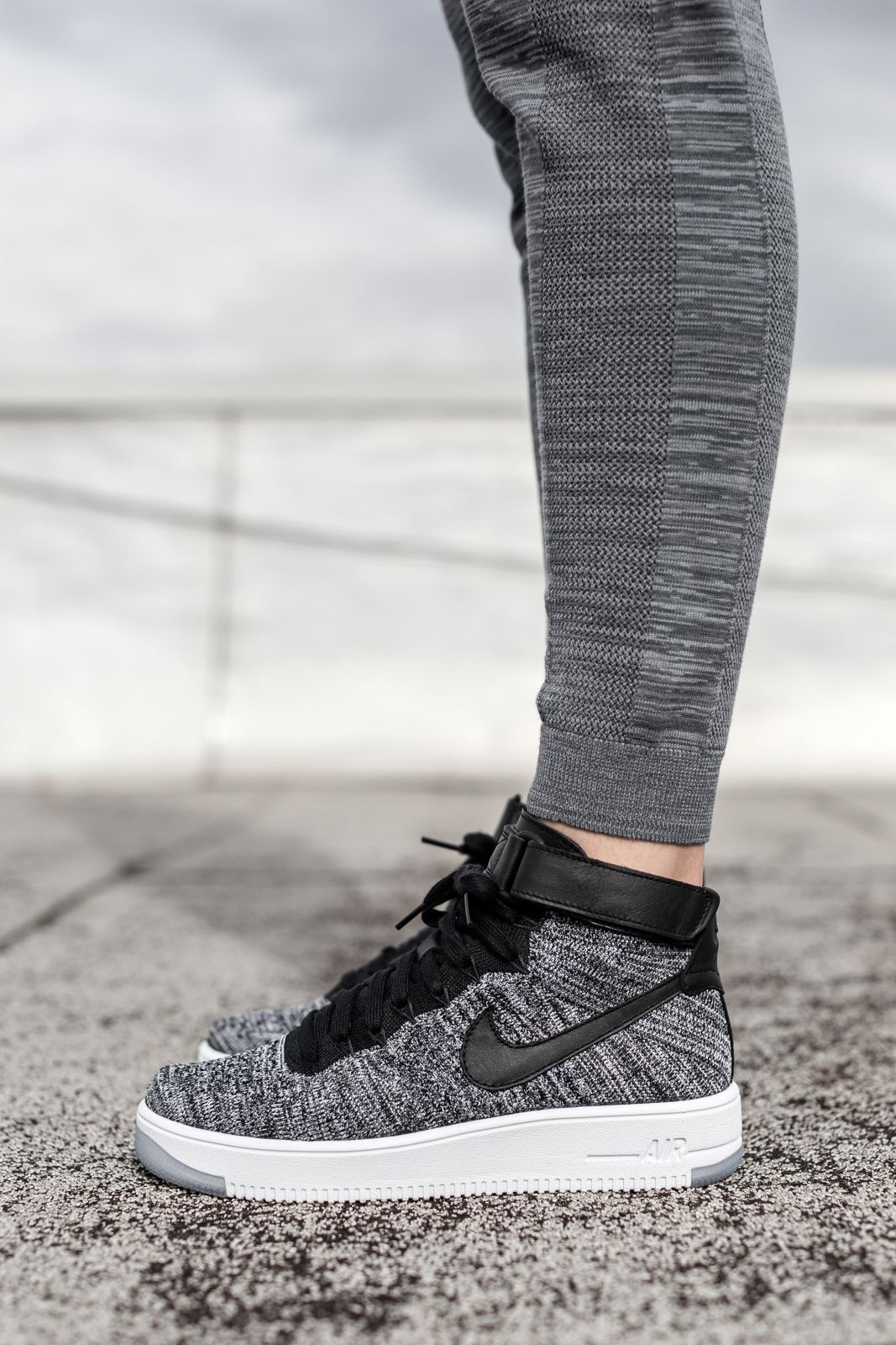 los angeles 14b3f 44e58 Nike Tech Knit   Air Force 1 Ultra Flyknit Editorial by Kith   Kith NYC