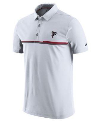 super popular 165e2 0f1b3 NFL Atlanta Falcons Elite Coaches Polo | ATLANTA FALCONS ...