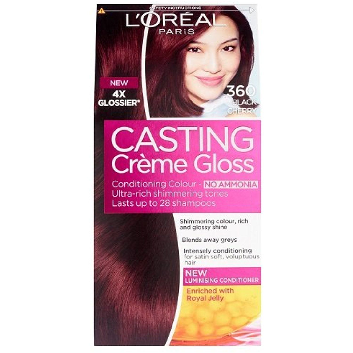 L Oreal Paris Casting Creme Gloss Hair Colourant 360 Black Cherry Read More At The Image Link This Is An Hair Color Chocolate Chocolate Hair Loreal Paris