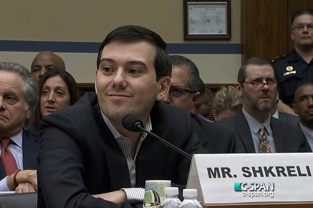 Martin Shkreli Really Pissed Off This Congressman By Refusing To Testify About Increasing Drug Prices - BuzzFeed News