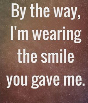 flirty quotes for her smile
