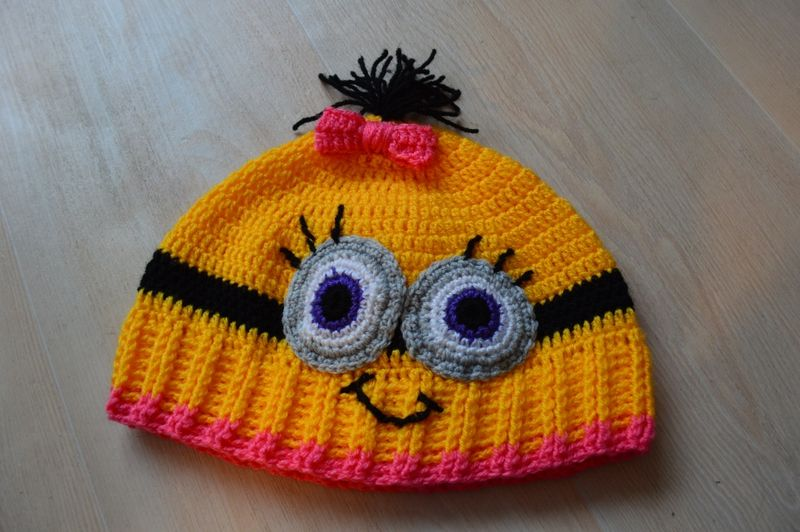 minion hat (3) | Crochet Despicable Me ( Minions ) | Pinterest