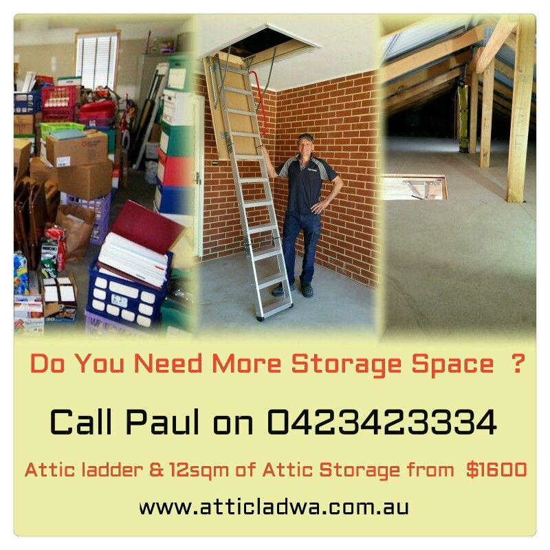Home Attic Ladder Attic Storage Attic