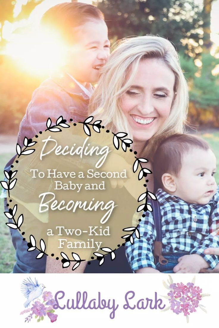 Deciding on Having a Second Child and Becoming a Two-Kid ...