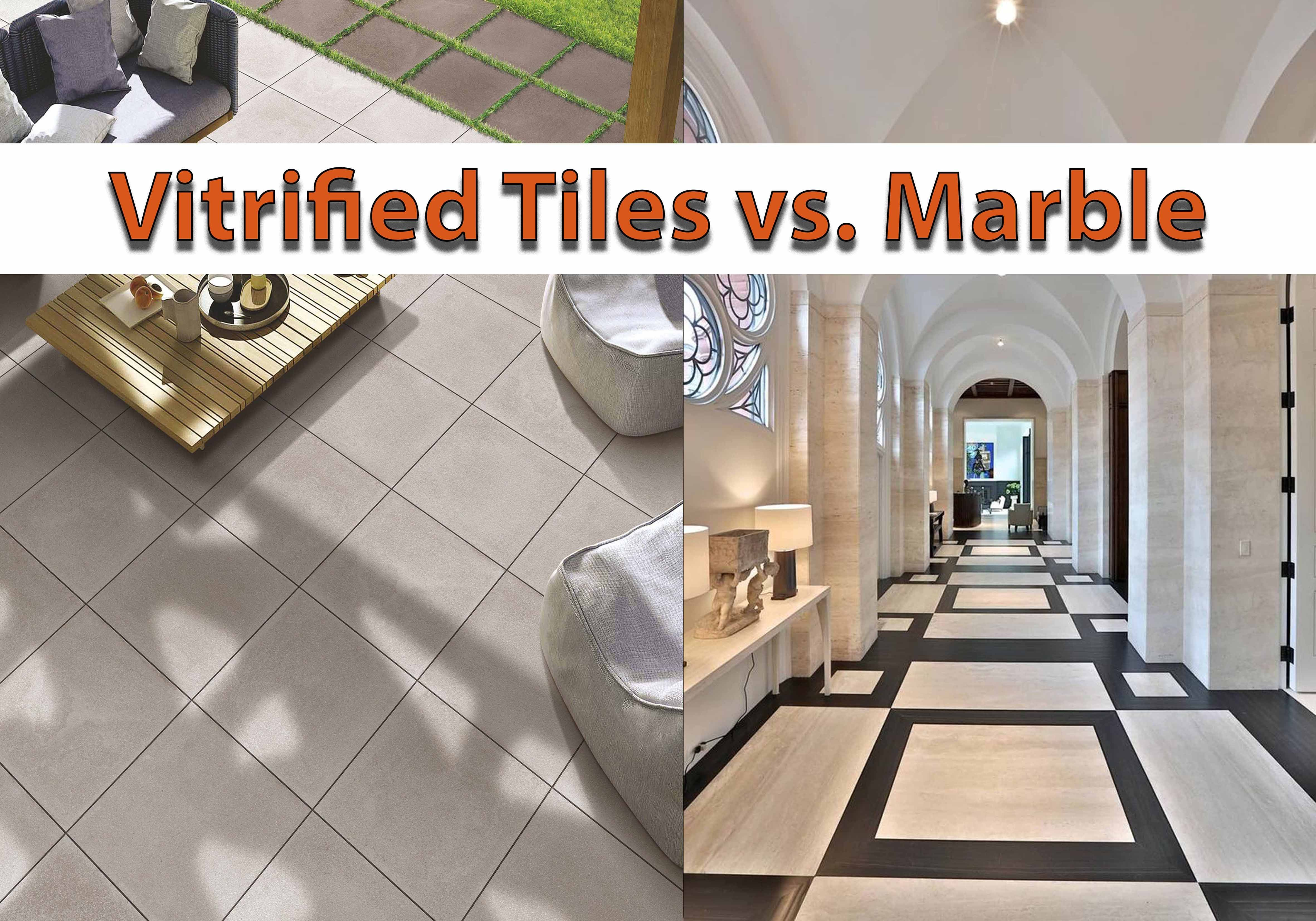 What To Choose Vitrified Tiles Vs Marble For Flooring Marble