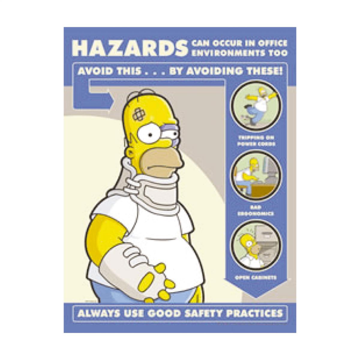 Simpsons Hazards In Office Environment