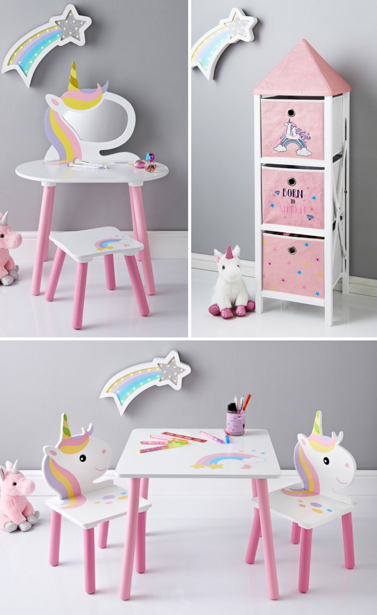 Enjoyable Unicorn Kids Furniture From 24 99 Bm Unicorn Room Squirreltailoven Fun Painted Chair Ideas Images Squirreltailovenorg