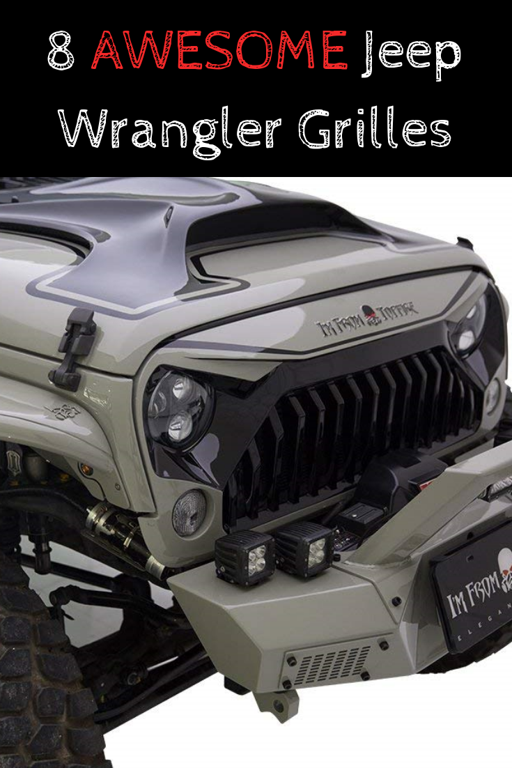 Aftermarket Jeep Wrangler Grille Styles Jeep Wrangler Custom