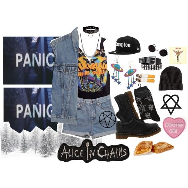 """In Utero"" by creepywhore on Polyvore"